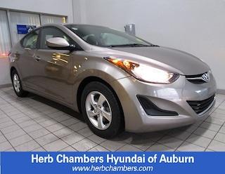Bargain 2014 Hyundai Elantra SE Sedan H2721A for sale in Auburn, MA