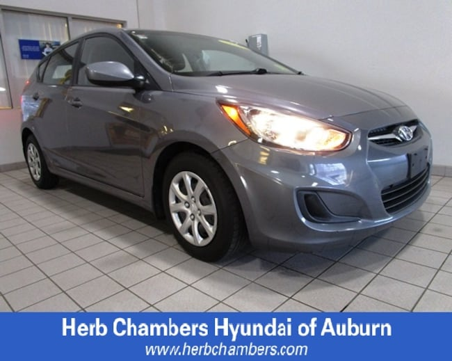 Used 2014 Hyundai Accent GS Hatchback for sale in Boston, MA