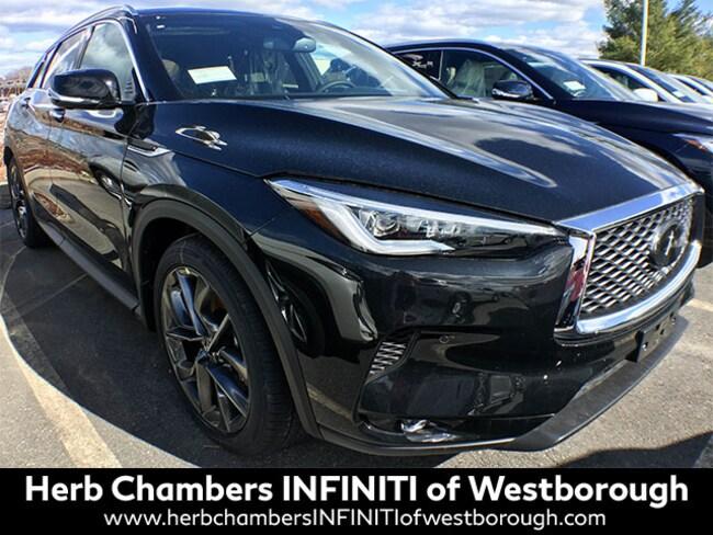 New 2019 INFINITI QX50 ESSENTIAL SUV Westborough