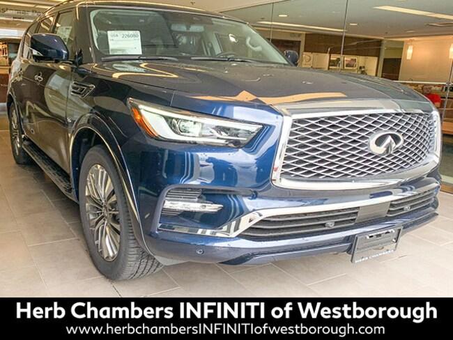 New 2019 INFINITI QX80 LUXE SUV Westborough