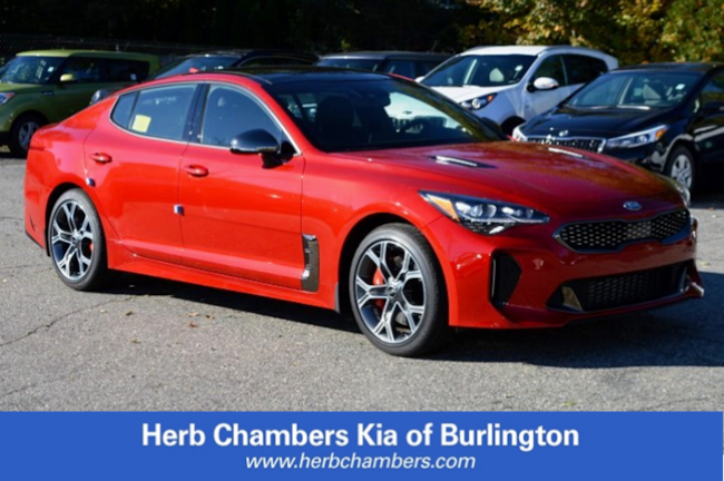New 2018 Kia Stinger GT1 Sedan Burlington, MA