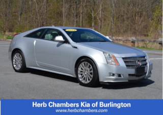 Used 2011 CADILLAC CTS Performance Coupe for sale in Burlington, MA