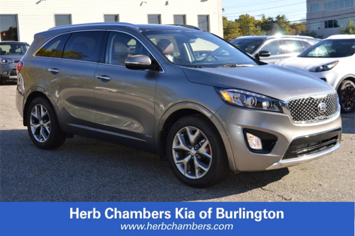 Featured New 2018 Kia Sorento 3.3L SX SUV for sale near you in Burlington, MA
