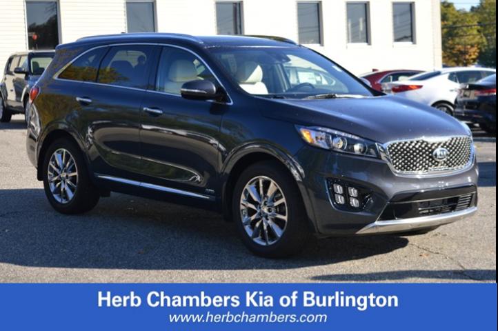 Featured new Kia vehicles 2018 Kia Sorento 3.3L SXL SUV for sale near you in Burlington, MA