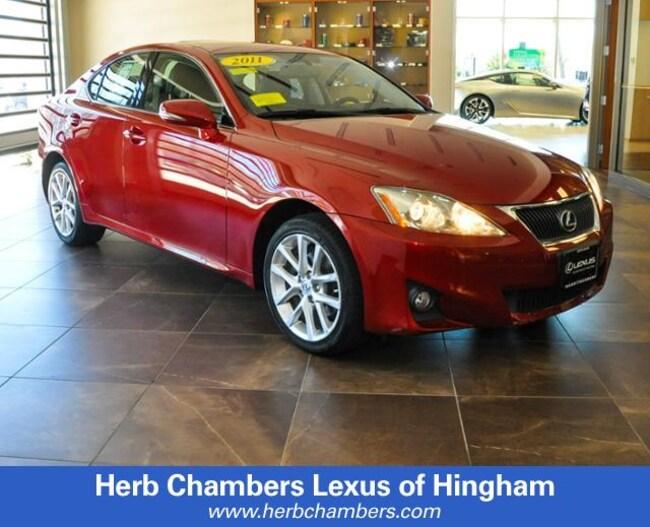2011 LEXUS IS 250 Sedan
