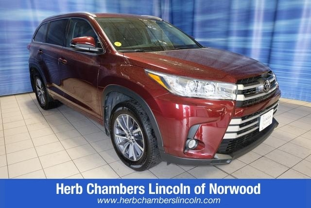 Featured Pre-Owned 2017 Toyota Highlander XLE SUV for sale near you in Norwood, MA