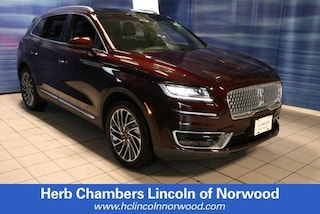 New 2019 Lincoln Nautilus Reserve SUV A020 for sale near you in Norwood, MA