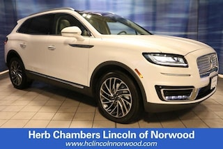 New 2019 Lincoln Nautilus Reserve SUV A152 for sale near you in Norwood, MA