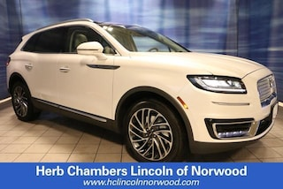 New 2019 Lincoln Nautilus Reserve SUV A145 for sale near you in Norwood, MA
