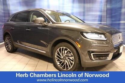 New 2019 Lincoln Nautilus For Sale in Norwood, MA   Near Boston, Westwood,  Brockton & Sharon, MA   VIN: 2LMPJ8L96KBL62663