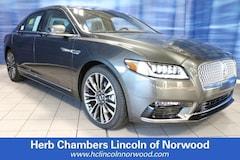 New 2019 Lincoln Continental Reserve Sedan Norwood MA
