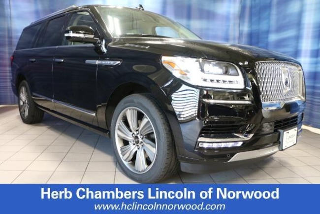 New 2018 Lincoln Navigator Reserve SUV in Norwood, MA