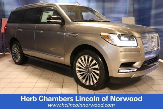 New 2019 Lincoln Navigator Reserve SUV in Norwood, MA