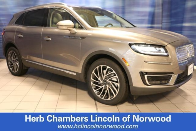 New 2019 Lincoln Nautilus Reserve SUV in Norwood, MA