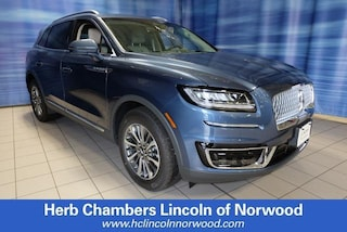 New 2019 Lincoln Nautilus Select SUV A154 for sale near you in Norwood, MA