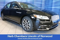 New 2019 Lincoln Continental Livery Sedan Norwood MA