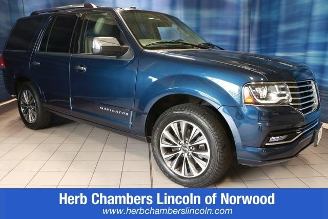 Featured Pre-Owned 2016 Lincoln Navigator Select SUV for sale near you in Norwood, MA