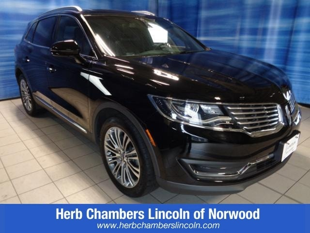 Featured Pre-Owned 2016 Lincoln MKX Reserve SUV for sale near you in Norwood, MA