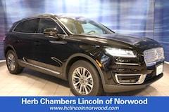 New 2019 Lincoln Nautilus Select SUV Norwood MA