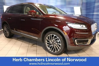 New 2019 Lincoln Nautilus Reserve SUV A122 for sale near you in Norwood, MA
