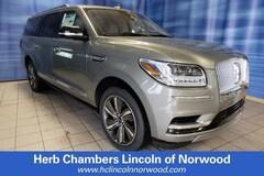 New 2019 Lincoln Navigator L Reserve SUV Norwood MA