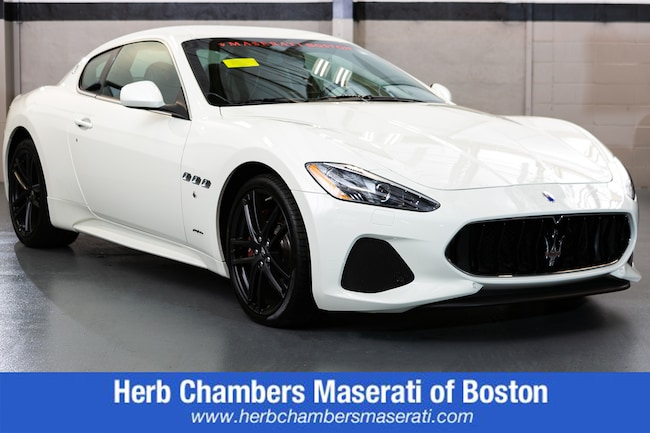 New 2018 Maserati GranTurismo Sport Coupe for sale in Wayland, MA near Boston