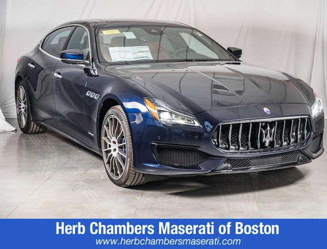 New 2019 Maserati Quattroporte S Q4 GranSport Sedan for sale in Wayland, MA near Boston