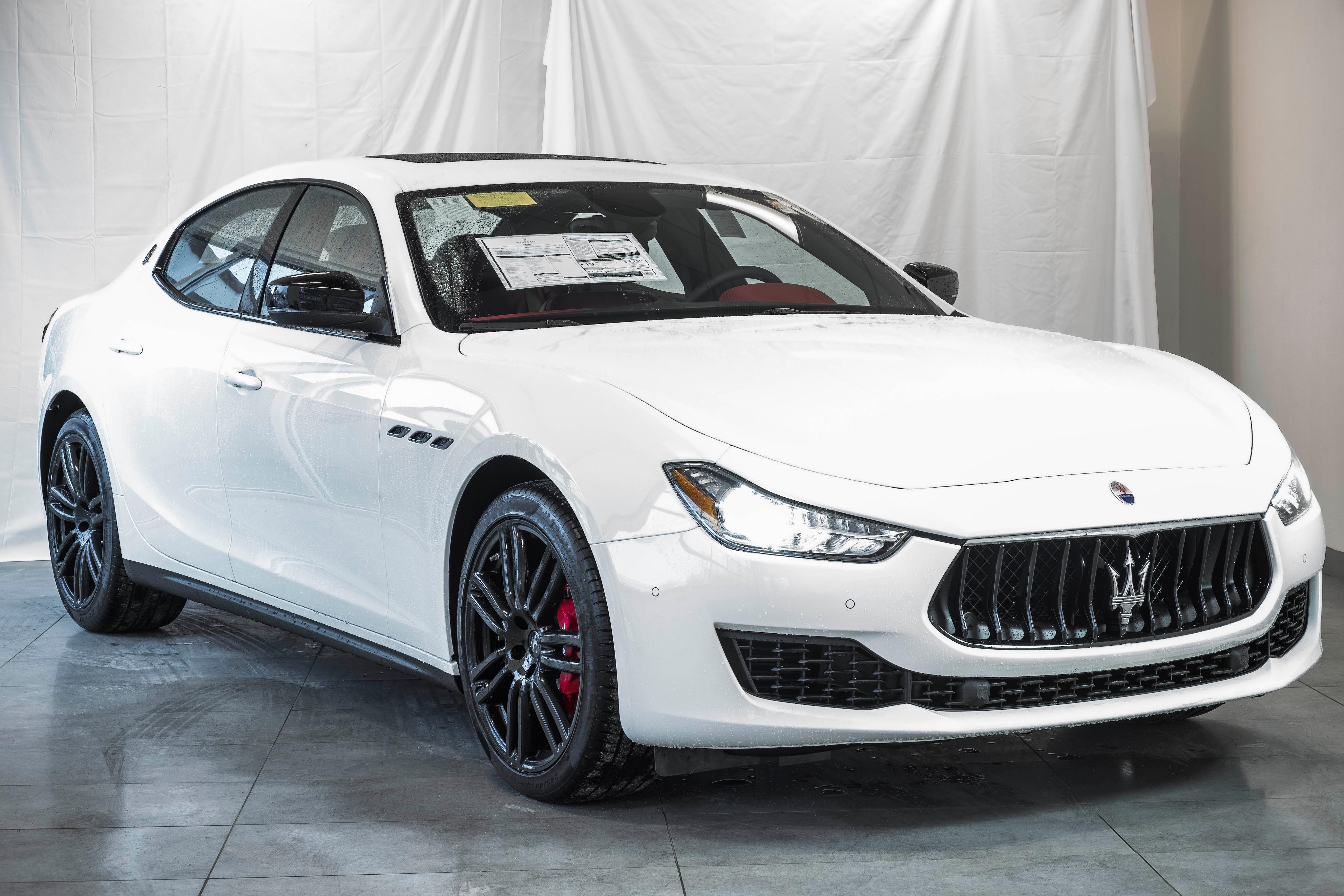 Maserati Ghibli S Q4 >> New 2019 Maserati Ghibli S Q4 In Wayland Ma Near Boston