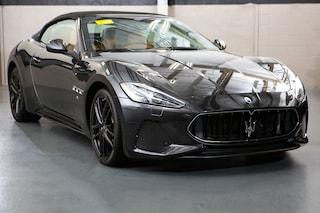 New Maserati luxury vehicles 2018 Maserati GranTurismo Sport Convertible for sale near you in Millbury, MA