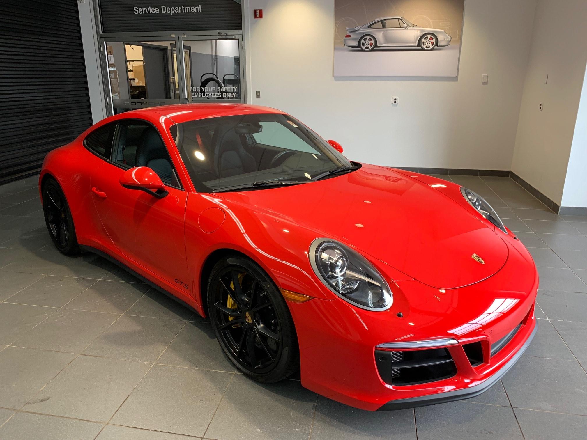 2018 Porsche 911 Car