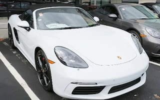 New Porsche 2018 Porsche 718 Boxster S Convertible J28160 in Boston, MA