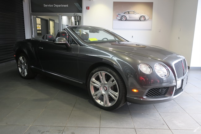 Pre-Owned 2014 Bentley Continental GTC V8 Convertible near Boston, MA