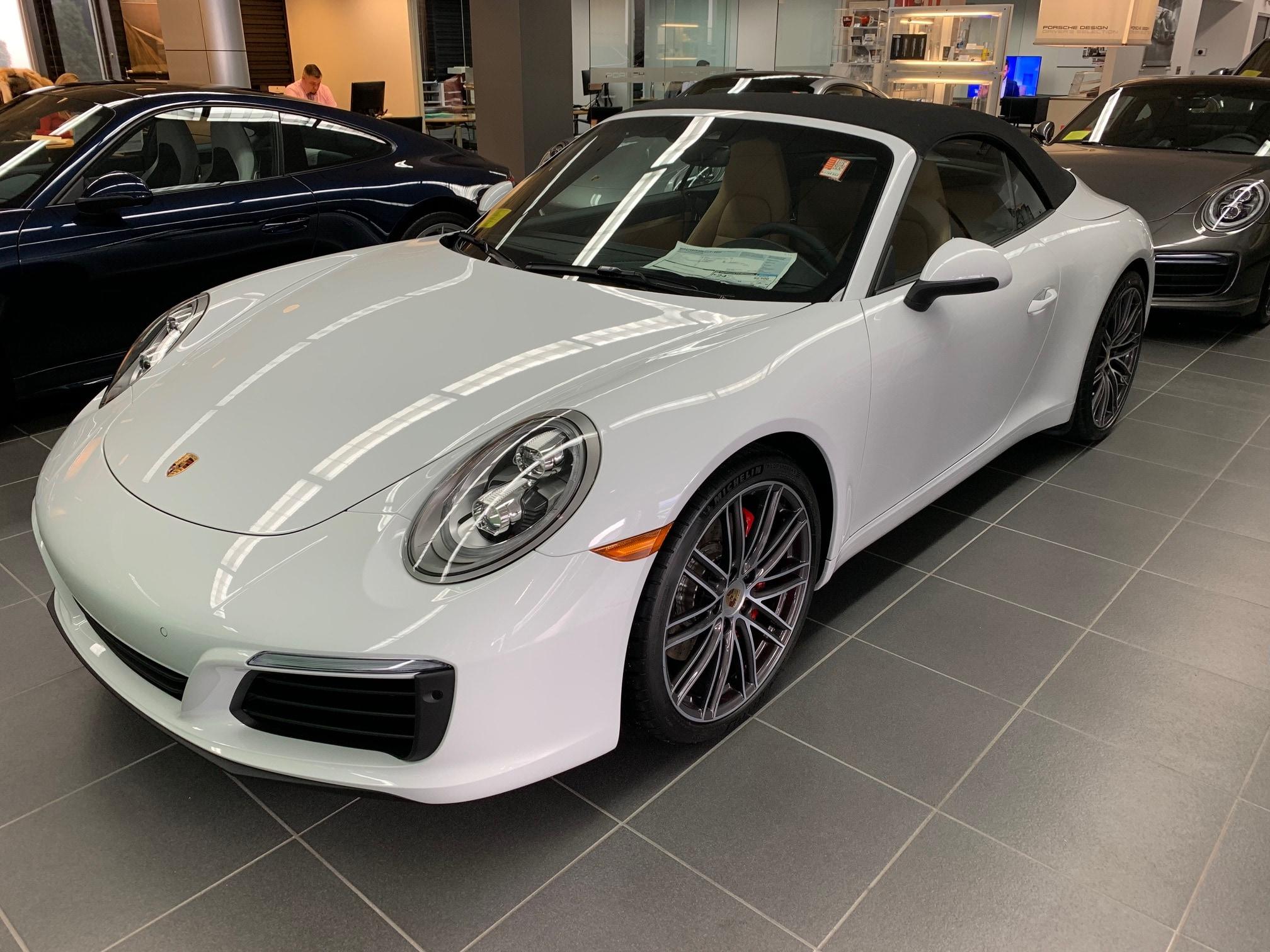 2019 Porsche 911 Convertible