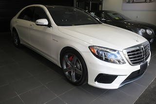 Pre-Owned 2017 Mercedes-Benz AMG S 63 AMG S 63 Sedan R19238A for sale in Boston, MA