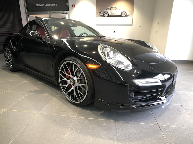 Certified Pre-Owned 2015 Porsche 911 Turbo Coupe for sale in Boston, MA