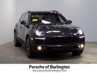 New 2018 Porsche Macan Sport Edition Sport Utility Burlington MA