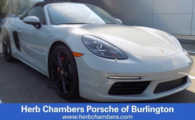 New Porsche 2018 Porsche 718 Boxster S for sale in Boston, MA