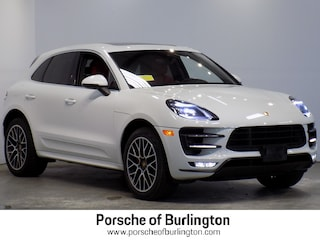Used 2017 Porsche Macan Turbo Sport Utility Burlington MA