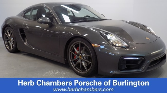Certified Pre-Owned 2016 Porsche Cayman GTS Coupe for sale in Boston, MA