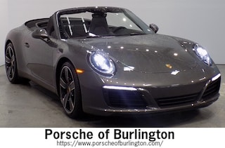 New 2019 Porsche 911 Carrera S Convertible Burlington MA