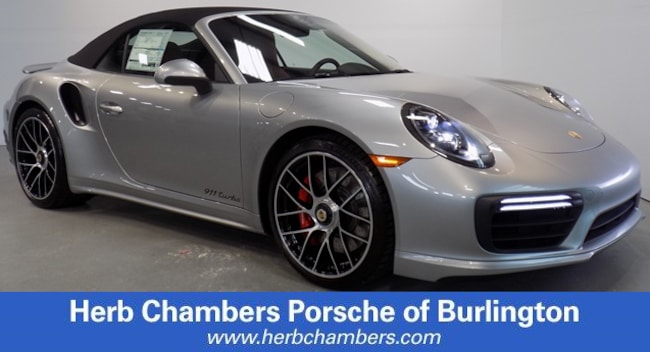 New 2019 Porsche 911 Turbo Cabriolet Burlington MA