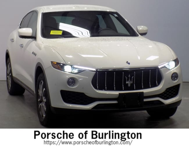 Used 2018 Maserati Levante SUV Burlington MA