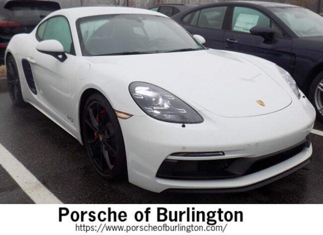 Used 2018 Porsche 718 Cayman GTS Coupe Burlington MA
