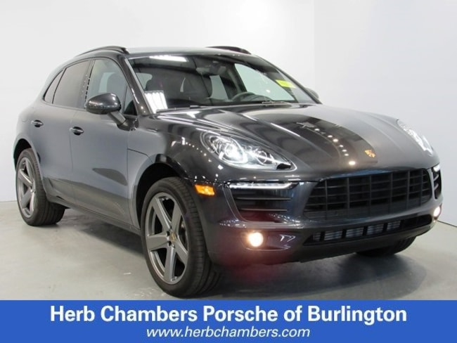 New Porsche 2018 Porsche Macan SUV for sale in Boston, MA