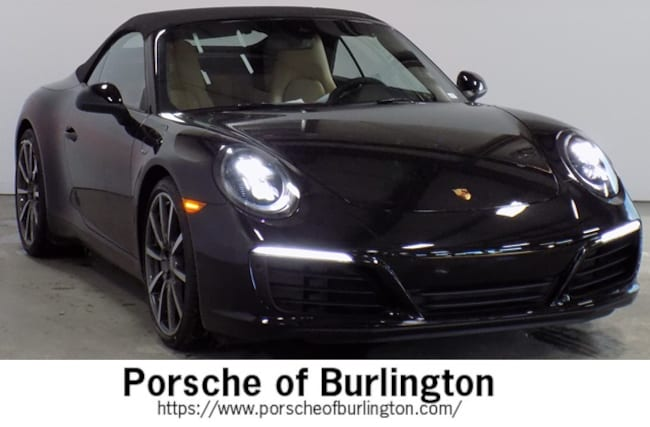 New 2019 Porsche 911 Carrera Convertible Burlington MA