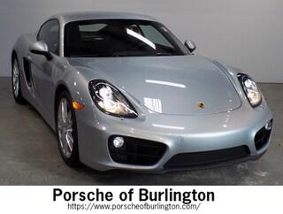 Used 2016 Porsche Cayman Coupe Burlington MA