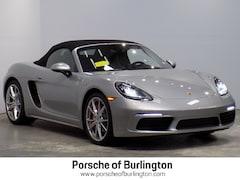 New 2019 Porsche 718 Boxster S Convertible Burlington, MA