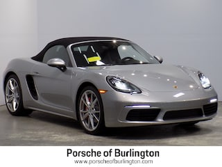 New 2019 Porsche 718 Boxster S Convertible Burlington MA