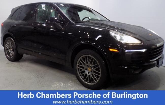 Certified Pre-Owned 2017 Porsche Cayenne SUV for sale in Boston, MA