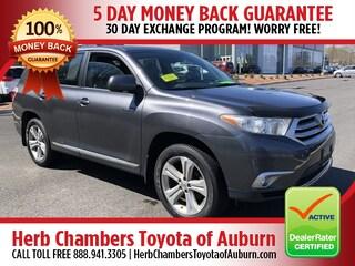 Used 2013 Toyota Highlander Limited Sport Utility A5435 for sale near you in Auburn, MA